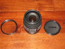 Sigma Zoom Lens 28-200mm 1:3.8-5.6 A - Alpha Mount Sony - Minolta W/ Filter
