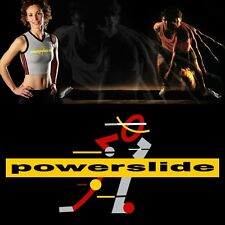 10' Powerslide Slide Board lateral exercise trainer includes booties specify sz