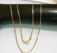 585 GOLD Kette Venezianerkette Venezia 51cm lang 4,78 g 14 Kt Gelbgold Halskette