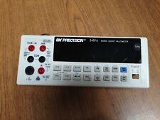 Bk Precision 5491a 50000 Count Multimeter Front Panel