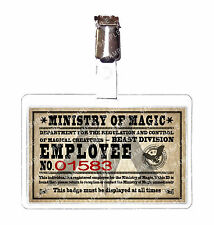 Harry Potter Ministry of Magic Beast Division ID Badge Cosplay prop Comic Con