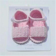Chaussures tricot/crochet 0-3 mois pour bébé