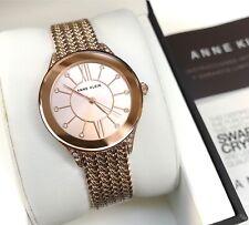 Anne Klein Watch * 2208RGRG Rose Gold Steel Mesh Bracelet Women COD PayPal