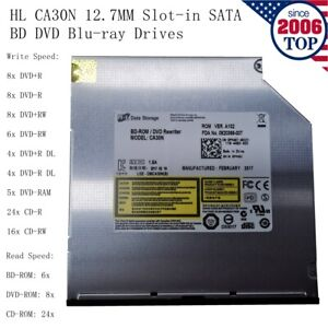 HL CA30N 12.7MM Slot-in SATA BD DVD Blu-ray Drives for Apple Mac and DELL laptop