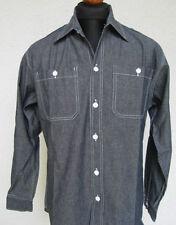 Abbigliamento e accessori vintage blu 100% Cotone