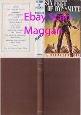 Berkeley Gray  SIX FEET OF DYNAMITE  3rd w/ ORIGINAL dj 1946 Collins mystery