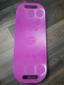 The Abs Legs Core Workout Balance Board Magenta Simply Fit 30045 Fitness Gear FS
