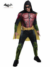 Deluxe Adult Arkham Robin Costume Cosplay Batman Arkham Men's Size Large