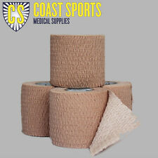 50mm Hand tearable Stretch Tape Box of 24 ROLLS Free postage