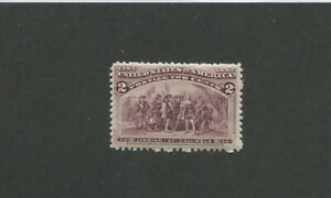 United States Postage Stamp #231 Mint Never Hinged VF Cat. Value