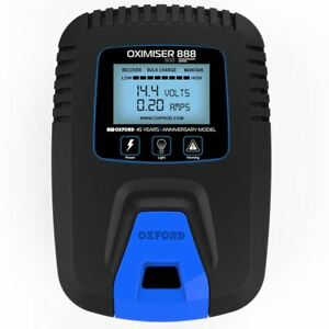 Oxford Oximiser 888 12V Motorcycle Battery Charger Optimiser Trickle Charge New