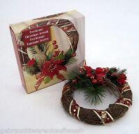 Festkranz Wandkranz Türkranz  Christmas wreath ca.20,5 cm