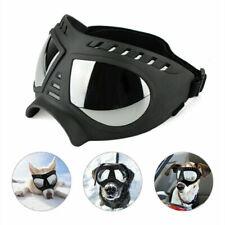 More details for dog windproof sunglasses waterproof pet goggles glasses eye protection adjustabl