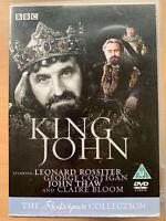 King John DVD 1984 BBC Shakespeare Colección Vida y Muerte De