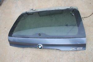 OEM BMW E53 X5 00-06 Rear Upper Hatch Trunk Lid Tailgate STEEL GRAY 400 *FREIGHT