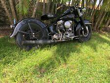 1955 Harley-Davidson FL FLH Panhead