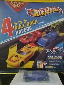 Mattel Hot Wheels 1:64 Racing Circuit Plastic Blue Collectible Car General Mills