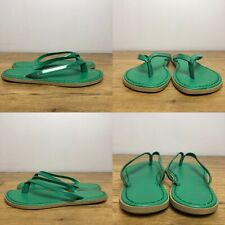 M&S Collection Green Sandals Flip Flops Size 3