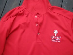 golf polo shirt shirt holden racing team  logos holden scramble final callaway