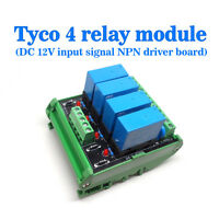 (US) OEG DC 12V 4 Channel Relay Module Four panels Driver Board Socket NPN