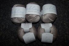 250g SUBLIME sirdar EGYPTIAN COTTON crochet WOOL YARN -354 SMUDGE taupe brown DK