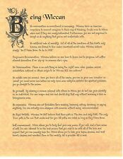 Book of Shadows Spell Pages ** Being Wiccan ** Wicca Witchcraft BOS