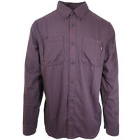 Vans Off The Wall Men's Boarding L/S Woven Shirt (Retail $55)