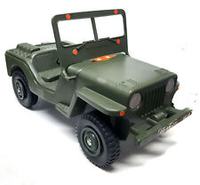 Original Vintage Action Man Army Jeep Car Vehicle toy for soldier figures NICE