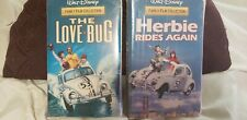 Herbie Rides Again & The Love Bug family Collection. Walt Disney VHS tapes new
