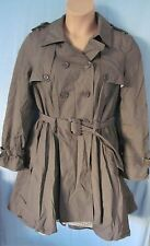George Casual Plus Size Button Coats & Jackets for Women