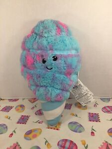 """VGUC-17"""" Iscream Cotton Candy Scented Furry Pillow Plush Strawberry Scent"""