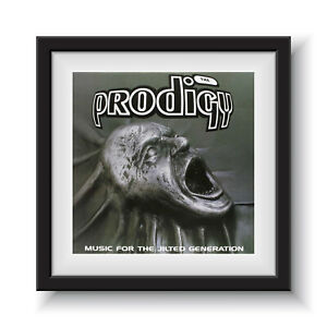 """The Prodigy - Music For Teh Jilted Generation 12"""" Album Cover - Framed 16"""" x 16"""""""