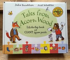 Tales From Acorn Wood Kids Gift Set/Fox's Socks Lift The Flap Book/Giant Jigsaw