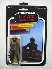 Vintage Star Wars Imperial Gunner UZAY SAVASCILARI Custom Bootleg MOC