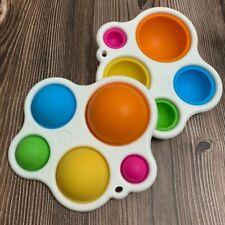 Pop & Play Sensory Large Simple Dimple Toy Kids Babies Fidget Fun