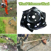 """9.25"""" Professional Weed Trimmer Head Rounded Edge Efficient Grass Root Removal"""