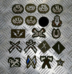 Genuine British Army Trade / Qualification Badges / Patches Assorted Styles