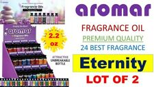 2 Aromar Aromatherapy Essential Fragrance 100% Concentrated Oil (ETERNITY) 2X