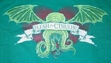 """Flesh of Cthulhu"" H.P. Lovecraft Mythos Men's XXXL Shirt Teevillain"