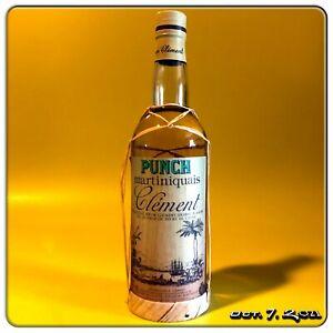 Rhum ✺ CLEMENT ✺ PUNCH ✺ MARTINIQUAIS ✺ 70 cl ~ Rum Clément Agricole