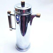 Continental Silver Co Inc Coffee Percolator Bakelite Handles Art Deco Vintage