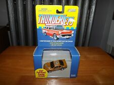 Thunderjets Brown Stock Car #84, Pull Back Action, Snap On For Slot Car, Nib