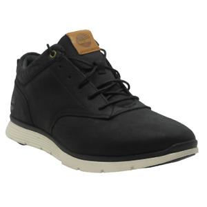 Mens Timberland Killington Black Leather Shoes Trainers Size UK 8.5 Eur 43