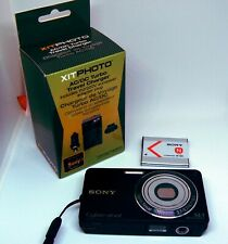 Sony Cybershot DSC-W350 14.1MP Digital Point & Shoot Camera w/ battery charger
