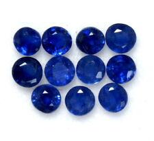 Natural Blue Sapphire Round Cut 2.75 mm Lot 05 Pcs Calibrated Gemstones