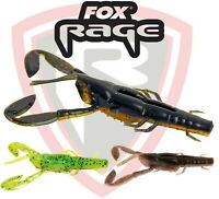Fox Rage Predator 7cm CRITTERS 3pcs Soft Lure Bait Creature Fishing Tackle Perch