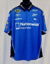 2014 Ricky Stenhouse Nationwide Race Used NASCAR Pit Crew Shirt xl
