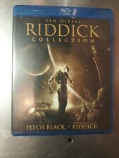 Riddick Collection (Pitch Black / Chronicles of Riddick) Blu-ray New sealed