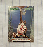 "1992 Michael Jordan Stadium Club Beam Team ""Members Only"" #1 HOF Bulls NM Topps"
