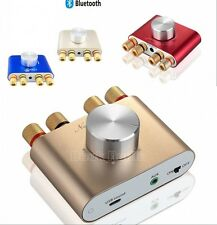 Mini Hifi 50W+50W Stereo Bluetooth Audio Power Amplifier Headphone AMP 12V-24V